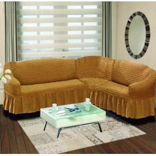 Чехол для углового дивана DO&GO эластичный универсальный Турция