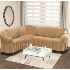 Чехол для углового дивана DO&GO Н-002 эластичный универсальный Турция