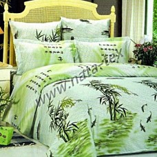 Комплект постельного белья из сатина СайлиД В-53 евро