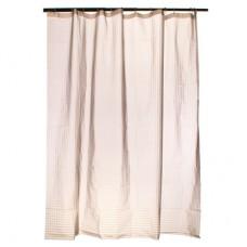 """Штора для ванной комнаты из ткани с водоотталкивающей пропиткой 461-114 """"Серый алмаз"""" 3Д эффект"""