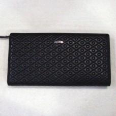 Бумажник женский из натуральной кожи PRENSITI  248А цвет чёрный