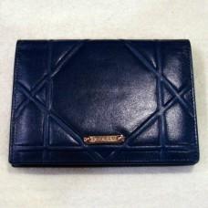 Бумажник женский из натуральной кожи VERITY1662 цвет синий