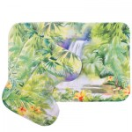"""Набор для ванной комнаты """"Тропический водопад"""""""