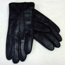 Перчатки мужские из натуральной кожи PLONEER 616  цвет чёрный Чехия