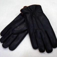 Перчатки мужские из натуральной кожи ELMA E216