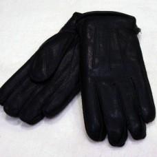 Перчатки мужские из натуральной кожи WANG ZI Y752  цвет чёрный