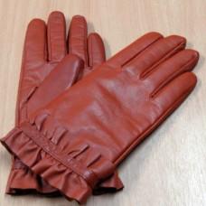 Перчатки женские из натуральной кожи с подкладкой из шерсти Comfort LD-12177 Италия