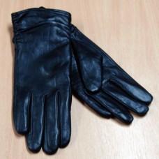 """Перчатки женские из натуральной кожи """"MUNASA"""" Н85  цвет черный"""