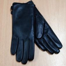 """Перчатки женские из натуральной кожи """"Zon Polo"""" Н145 цвет черный"""