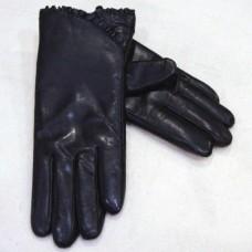 Перчатки женские из натуральной кожи GAUR GLOVES-632 цвет чёрный