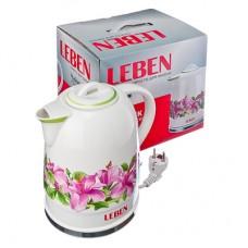 Чайник электрический керамический LEBEN 475