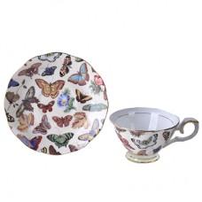 "Чайный набор из фарфора FARFALLE ""Кристиан"" 4 предмета"