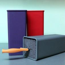 Универсальная пластиковая подставка для ножей KELLI KL-2092