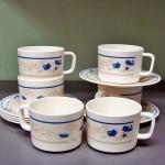 Набор чашек с блюдцами CALVE 1458