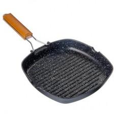 Сковорода-гриль VETTA 315 с антипригарным покрытием, со складывающейся ручкой, 24х4см