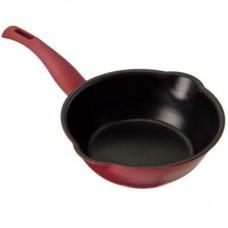 Сковорода литая с 2-мя сливами SATOSHI Профи 338, 20см, антипригарное покрытие