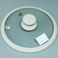 Крышка стекло Satoshi диаметр 22 см с силиконовым ободком