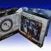 """Постельное белье из искусственного шелка двуспальное с эффектом 3D """"Камни"""""""