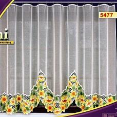 Тюль для кухни готовый Haft 5477 Польша