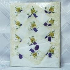 Скатерть с салфетками подарочная с вышивкой 150*220см 025-3