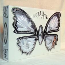 """Скатерть подарочная в коробке с салфетками и держателями """"ROZALITE"""" 002 160*220см"""