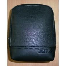 Сумка мужская из искусственной кожи  Bolumas 3206 цвет черный